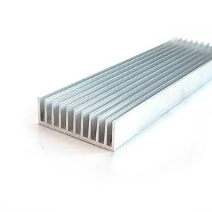 Portátil de fundición de aluminio de extrusión de luz led disipador de calor de los componentes con el precio
