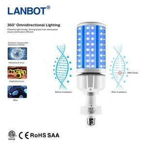 T8 120 Chùm Tia Góc UV 18W Bóng Đèn LED Ánh Sáng Màu Tím Ống