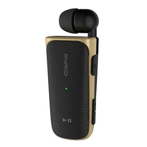 Sem fio Bluetooth fones de Ouvido estéreo Fones de Ouvido No Pescoço Clip On Tipo Telescópica de Negócios