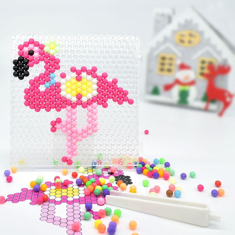 DIY flamingo animal de PVA cuentas hama cuentas juguetes de los niños
