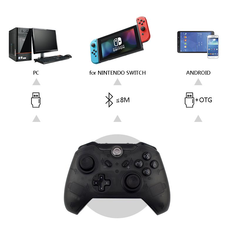 プロモ安い多機能 bluetooth ゲームパッドアンドロイドジョイスティックゲームパッドアンドロイド/PC