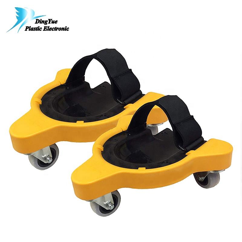 Авто Ремонт прокатки наколенники с колёса с магнитной сковородой Пены Мягкий Rolling Kneeler половина Creeper платформы