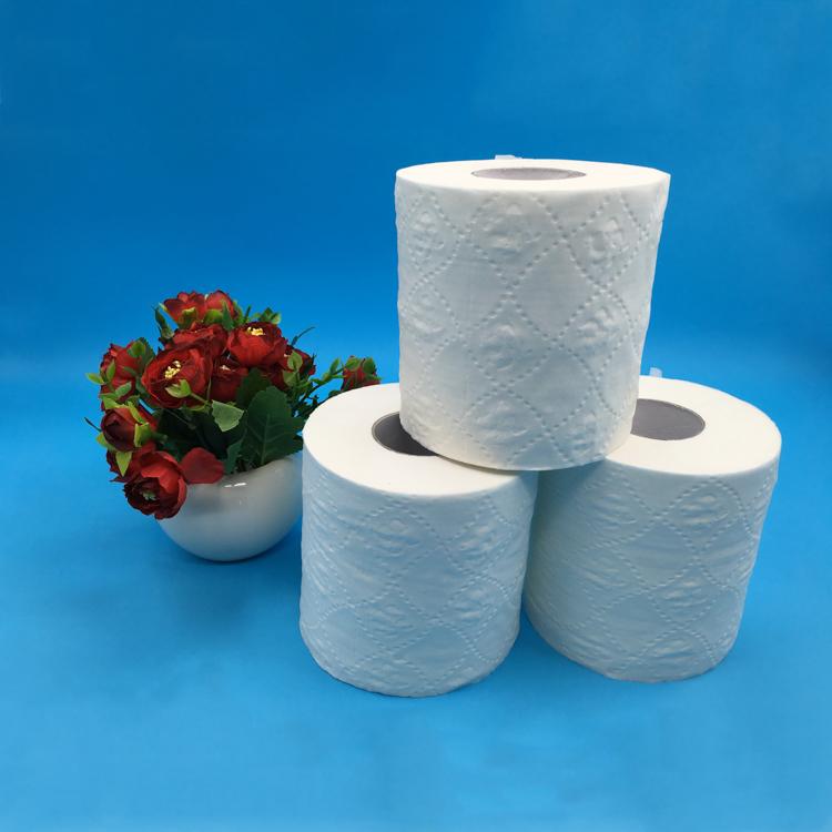 Additif sain Non Blanchie Sans Salle De Bains Papier Hygiénique 4 Rouleaux