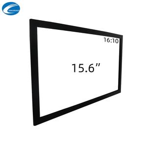 Ir タッチ 15.6 インチ赤外線マルチタッチスクリーンフレームタッチパネル 10 タッチ、工場直接販売