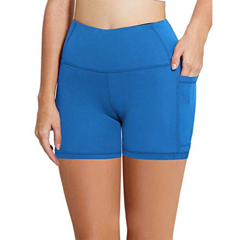 Taille élastique Yoga Sport Pantalons Courts Femmes Exercice En Cours D'exécution Crossfit Porter Des Shorts