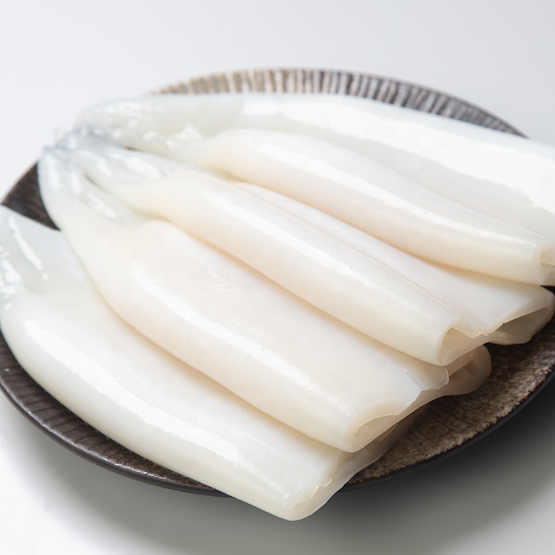 Marisco nutritivos limpiado MARISCOS CONGELADOS calamar tubo
