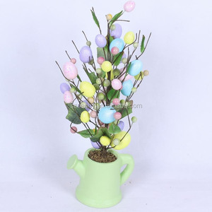 2020 easter table tree decorative table top tree table centerpiece tree
