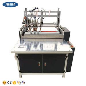 도매 및 소매 공장 PLC 운영 시스템 핫멜트 접착제 기계