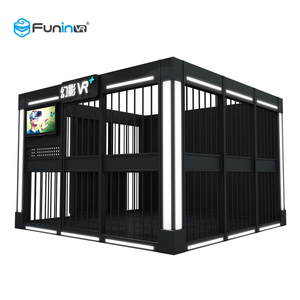 2020 Funin VR Multiplayer Game equiment 9D Stand-up Cinema VR+ Simulator for Amusement Park