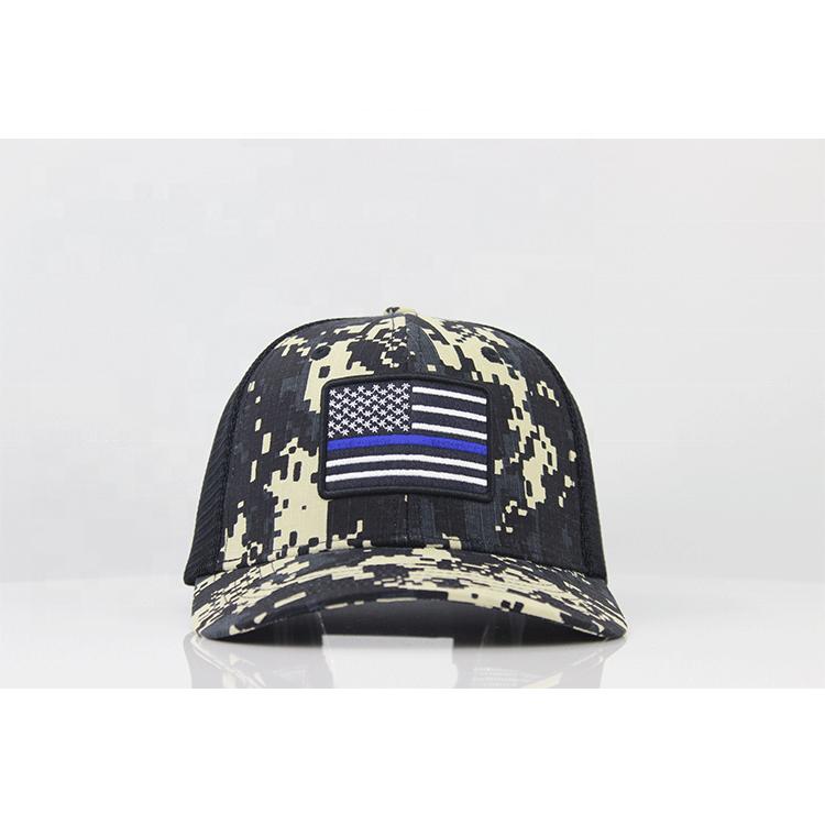 맞춤형 위장 모자 도매 Flexfit 트럭 모자