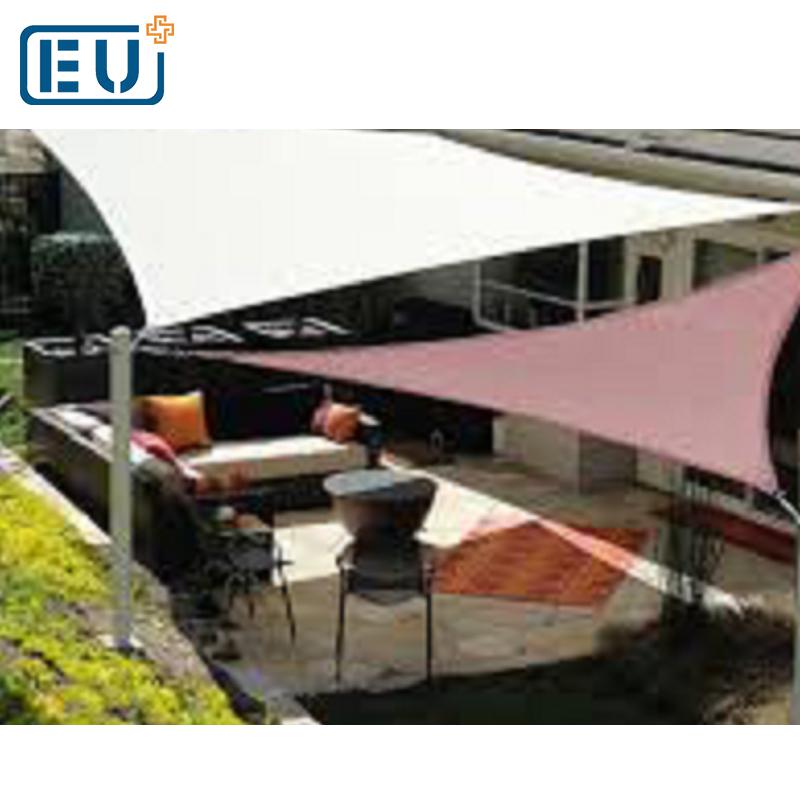 Diseño de la instalación rectángulo impermeable patio área fresca Sun SAIL SHADE Canopy para la venta