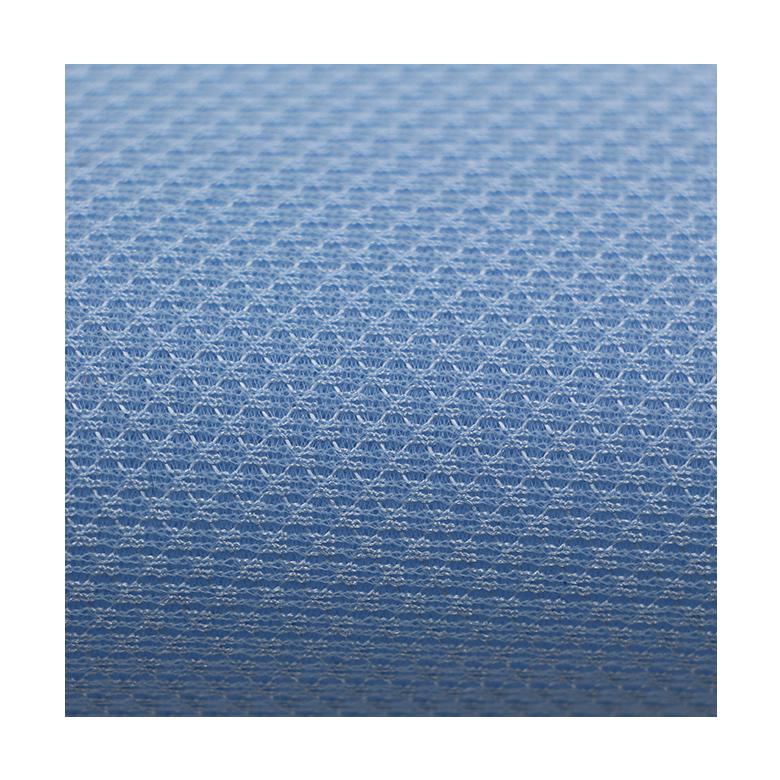 مخصص اللون 230gsm السماء الأزرق 3d الهواء شطيرة لينو شبكة النسيج ل مقعد