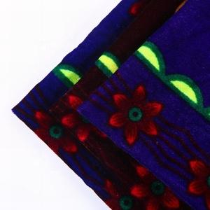100 poliéster tejida personalizado micro 5000 terciopelo de Corea tela impresa para el sofá