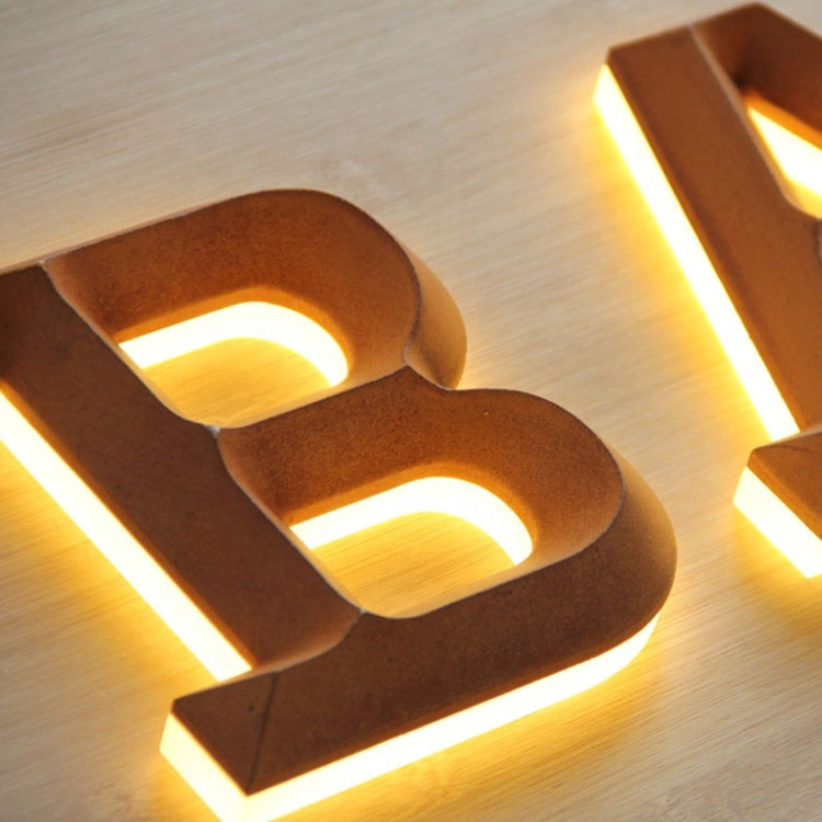قائم بذاته Led رسائل عملاقة الأرض 30 بوصة رسائل ثلاثية الأبعاد مشبك 6 في رسائل مضاءة