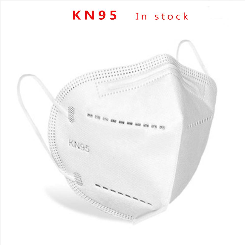 Antivirus non tessuto all'ingrosso della maschera KN95 a 4 strati del fronte pieno della fabbrica all'ingrosso