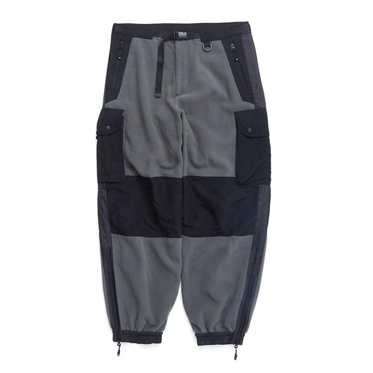Factory wholesale sweatpants comb colors multi pockets stylish pant for men