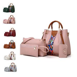 Échantillon gratuit en gros dame sac à main pu en cuir en gros sacs à main en cuir en gros sacs à main inde