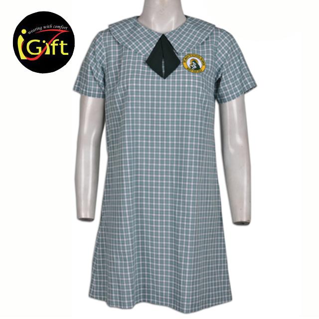2015ホット販売卸売高品質春女の子ポロ小学校制服
