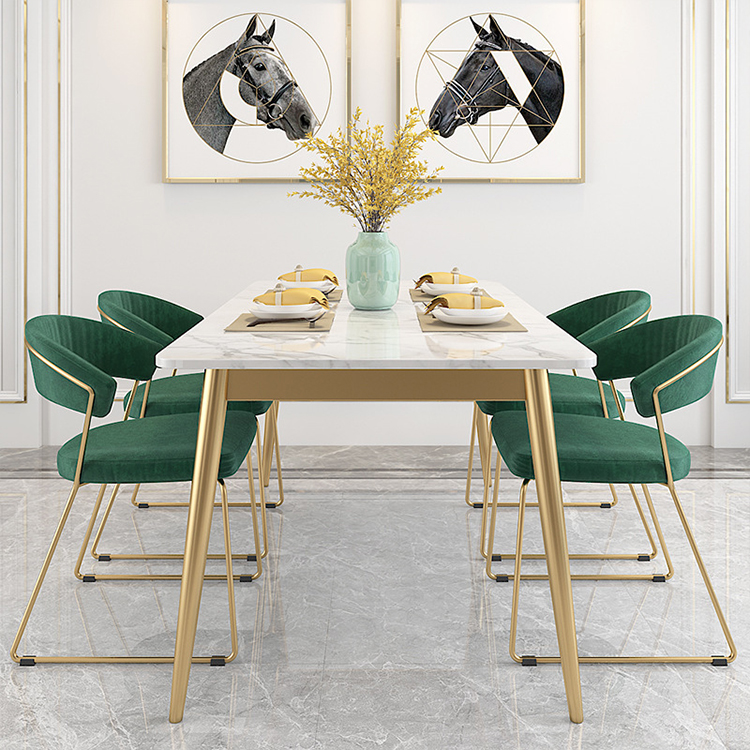 Barato al por mayor de muebles modernos de mesa de madera de silla restaurante creativo Grupo 6/8/10 asiento mesa de comedor mdf