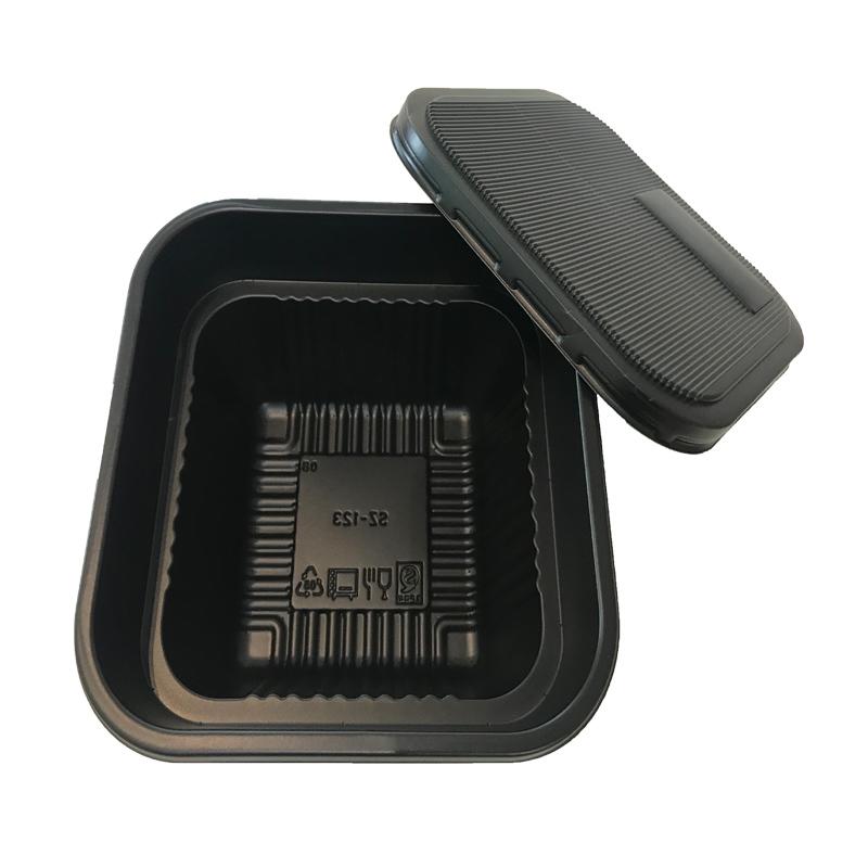 Đầy màu sắc nhựa dùng một lần ngăn trẻ em hộp ăn trưa