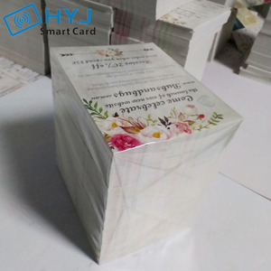 تخصيص ورقة بطاقة الأعمال الطباعة