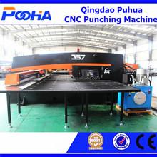 China sacador de agujero máquina CNC prensa punzonadora CNC Torreta Ponche Máquina
