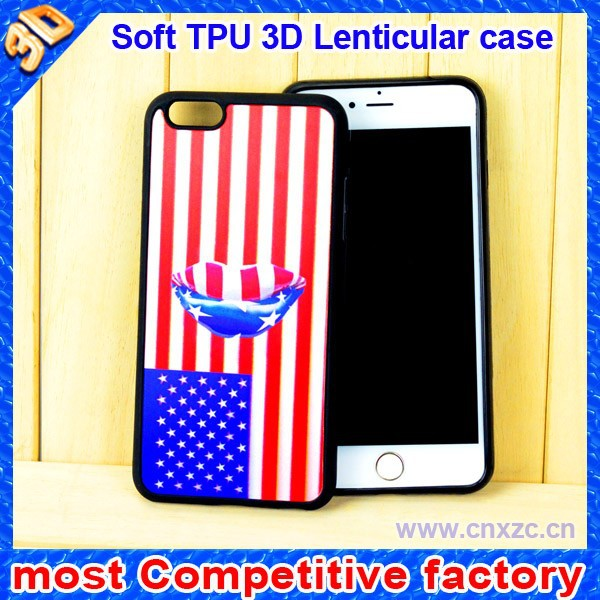 professional factory supply mobile phone case with popular 3D images