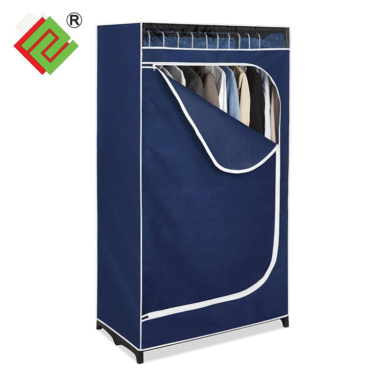 Muebles modernos fácil montar peva polvo almacenamiento armario