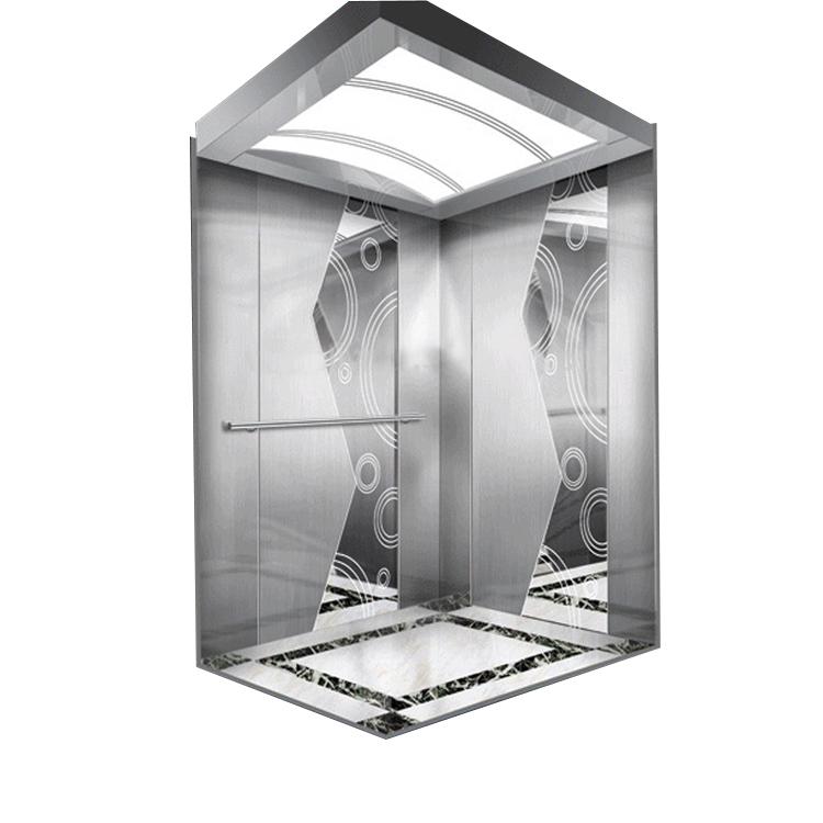 2 yan kapı odasız yolcu 10 kişi otel asansör asansörü