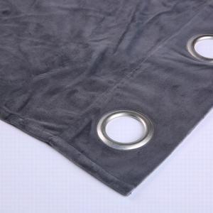 Gris apagón Octágono bucles sótano cortinas de la ventana para la ventana de la cocina