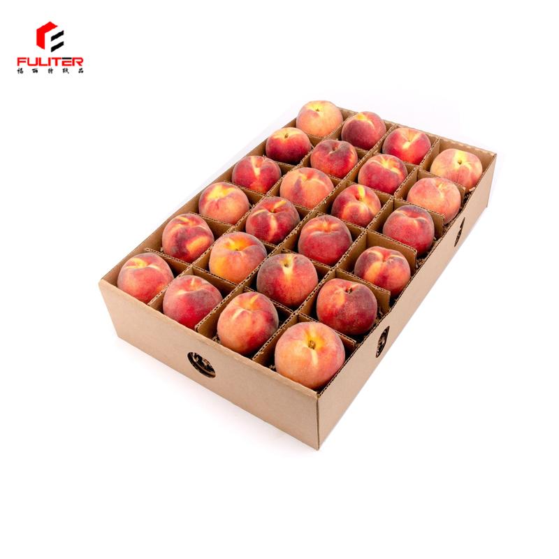 Гофрированный картонная коробка для фруктов для яблок