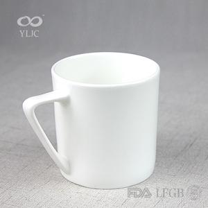 Cozinha esmalte impressão metade jade copos de cerâmica copo caneca de café