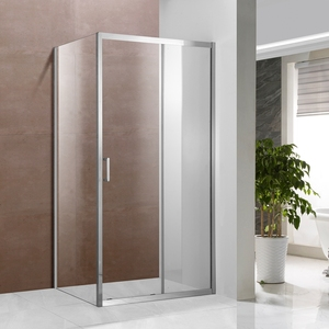 Templado cuarto de ducha de vidrio caja de Doccia