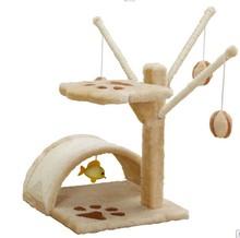 Qqpet bergan turbo rascador de gato de juguete& turbo rascador de gato& gato de juguete