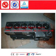 4946370 5260555 Dongfeng Cummins ISLe motor cilindro, 6D114 Cylinder block para PC300-8 excavatora