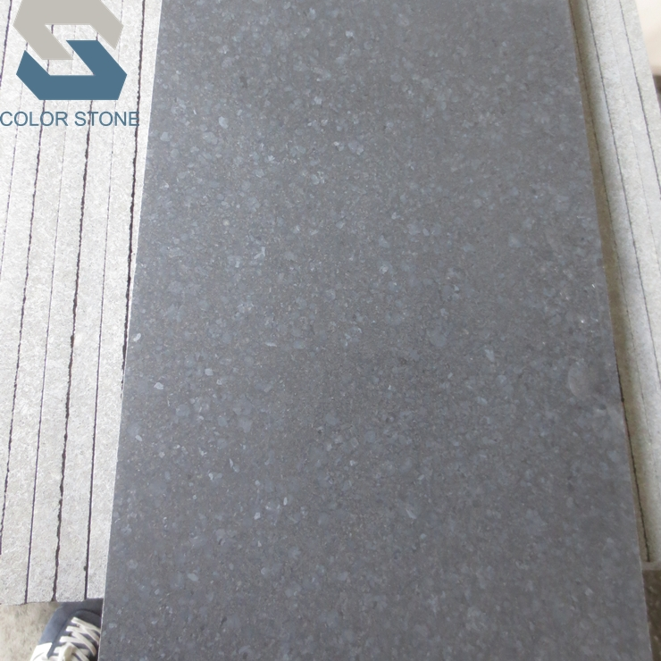 ベストヨーロッパ品質磨い g684 黒玄武岩石タイル花崗岩 30 × 60