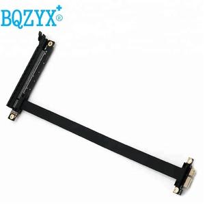 BQZYX Cable mordedura PCIe 16x a 1x PCI Express Riser tarjeta gráfica mineras extensión 25 cm con línea de alimentación gadget