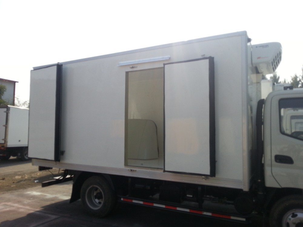 Thermos Insulation Truck Body Panel Ckd Fridge Truck Body
