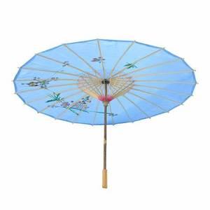 PoeticExst 12 Cores Sun Umbrella Parasol Casamento Artesanato de Bambu Chinês Tradicional Ao Ar Livre
