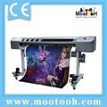 impresora barata Eco solvente (una o dos cabezas DX5, 1440dpi)