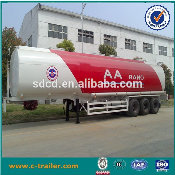 liquid asphalt tanker trailer,low price of CIMC fuel tanker truck