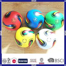 promocional caucho fútbol para los niños