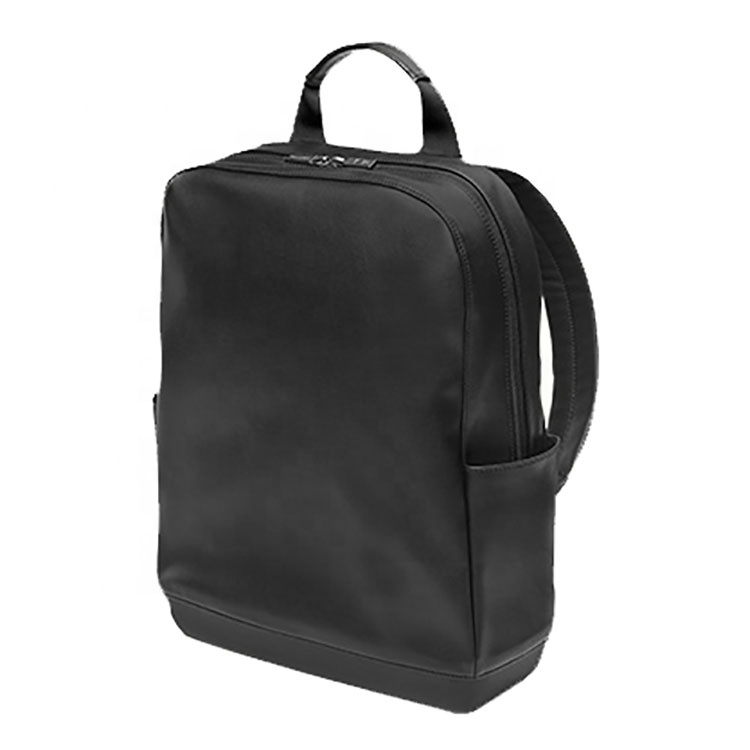 Özel en kaliteli basit eğlence seyahat iş erkekler sırt çantası saf deri