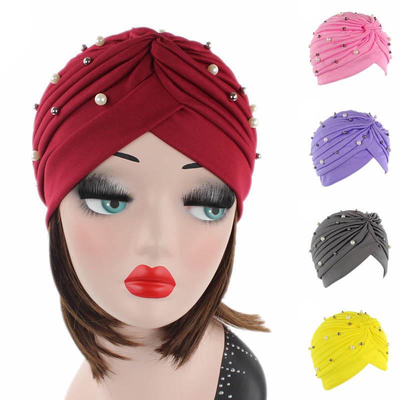 Inde Adultes Femmes Bonnets Turban Couvre Pour Le Mariage