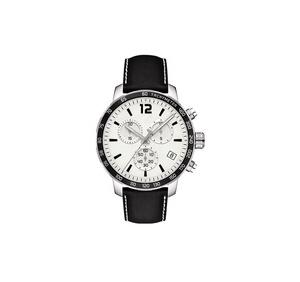 مخصص شعار الفاخرة الفولاذ المقاوم للصدأ ساعة حركة من كوارتز تصميم بنفسك الوجه المعصم كرونوغراف مع شعار
