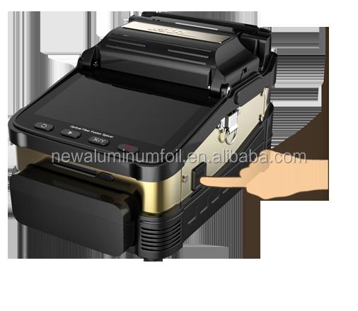 Top qualidade de resposta rápido AI-7 FTTH splicer da fusão de fibra óptica Emenda 8 S tempo Preço de Fábrica