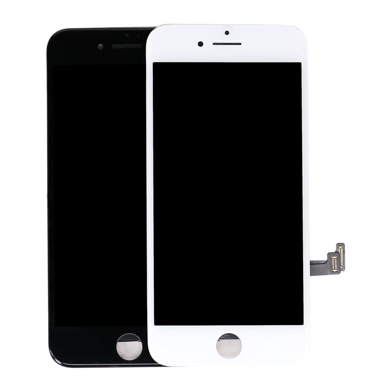 Cep telefonu Siyah Beyaz Renk lcd ekran değiştirme iphone 7 7G ekran
