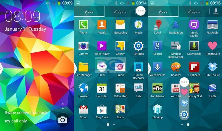 Samsung s5 как сделать скриншот