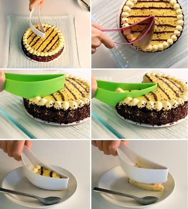 Нож-лопатка для порционной нарезки тортов