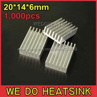 Охлаждение для компьютера We do heat sink 1, 000pcs/20 * 14 * 6 DIY Led s EH20x14x6